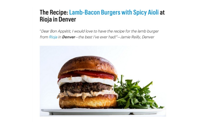 An easy way to get your favorite recipe from any restaurant. Any one at all.