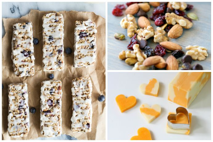 8 fun, easy ideas for healthy homemade vacation snack recipes that keep you away from those fries.