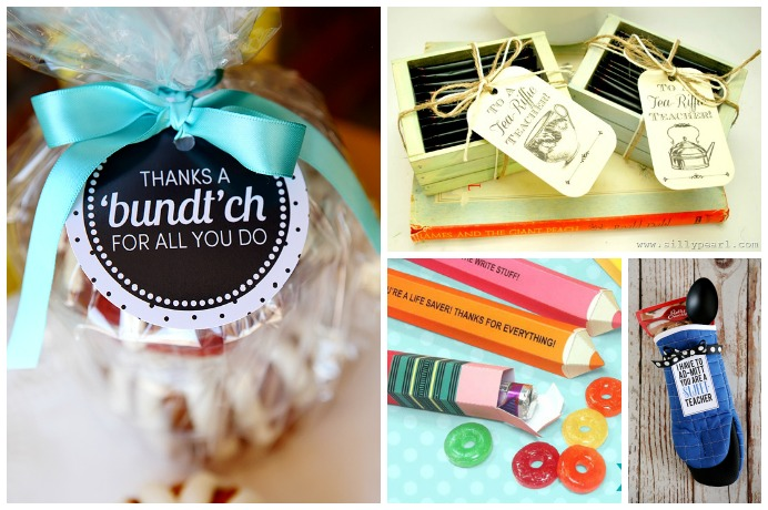 14 of the cutest printable teacher cards to make all those thoughtful food gifts more fun