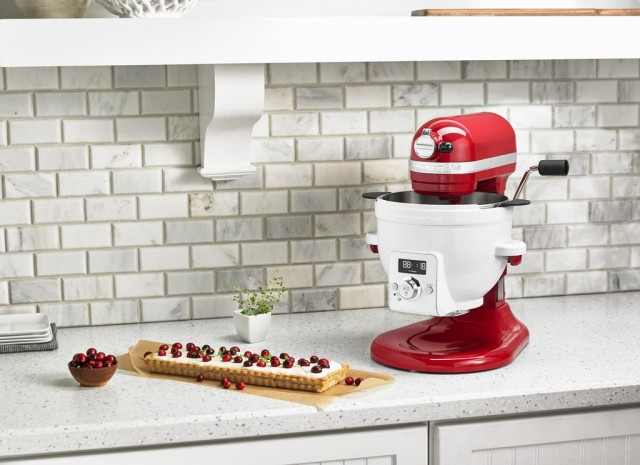 A KitchenAid mixer giveaway to celebrate one month of Cool Mom Eats.