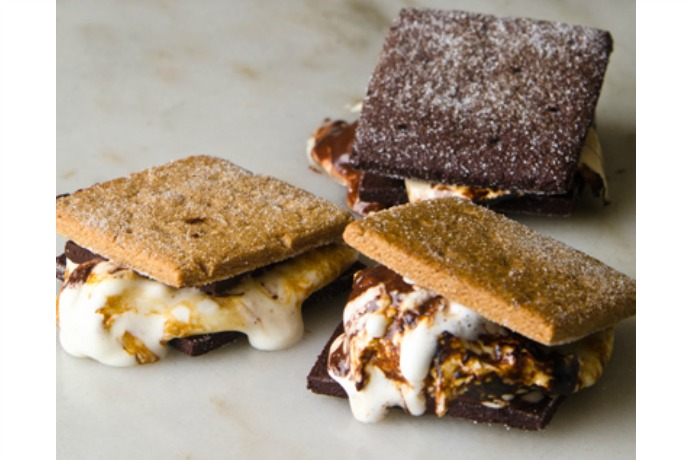 A gourmet s'mores kit from L.A. Burdick that turns a backyard BBQ into five-star dining (no formalwear allowed).