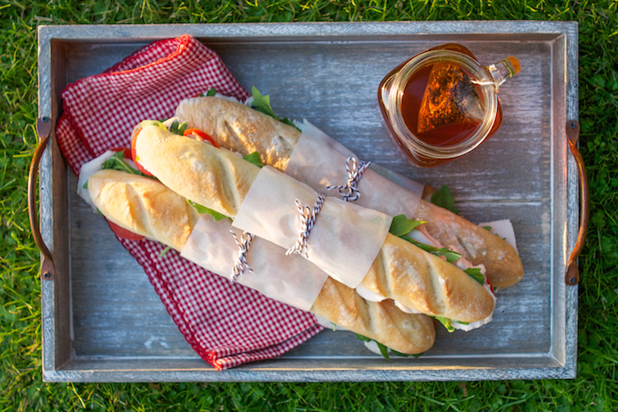 An easy and totally delicious picnic menu for International Picnic Day.