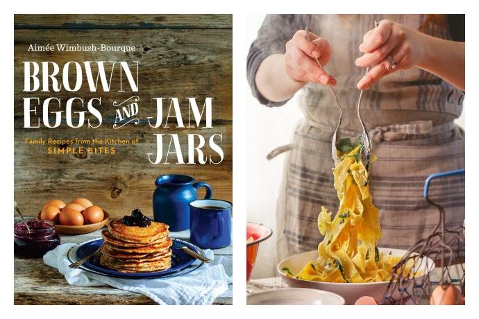 Easiest Spinach and Ricotta Pappardelle recipe from Brown Eggs and Jam Jars: one of our new favorite cookbooks for families.