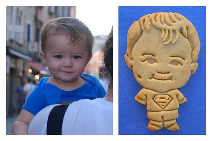Your kid is so cute you can now (literally, kind of) eat him up.