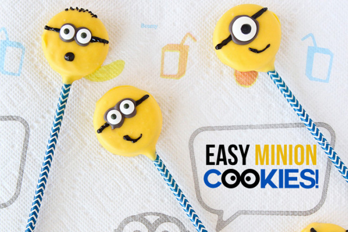 They're back! 5 Minions treat recipes to celebrate the release of the Minions movie.