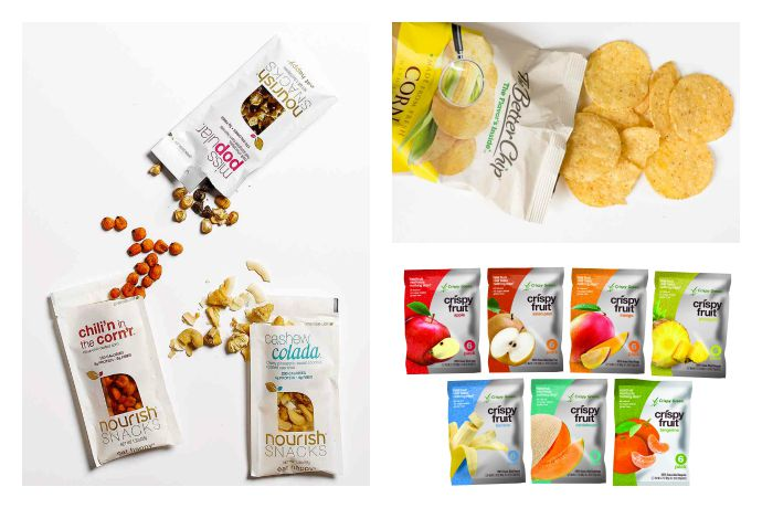 The best new, healthy back-to-school snack products that happen to be gluten-free, too.