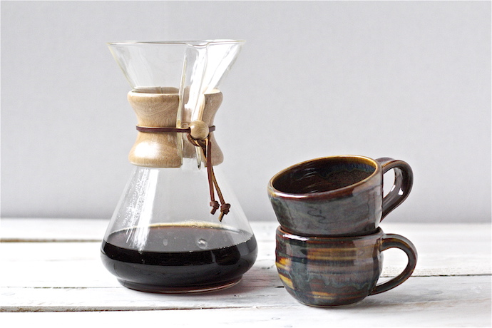 The best coffee makers for busy school mornings | the classic Chemex at Fresh Ground Roast