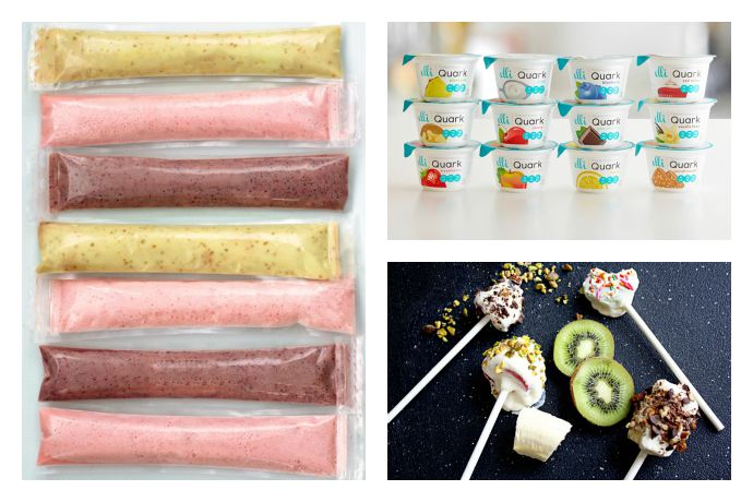 4 easy, delicious, healthy yogurt snack recipes for the whole family.