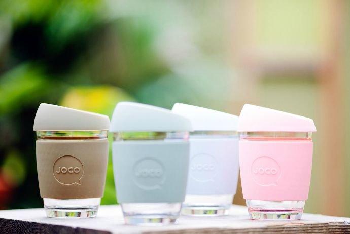 JOCO reusable glass coffee cups. Go ahead, make my coffee…to go.
