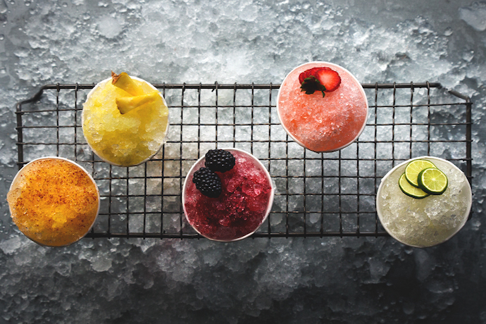 12 creative frozen cocktail recipes for cooling down summer: Boozie Slushies, Granitas, Popsicles and More