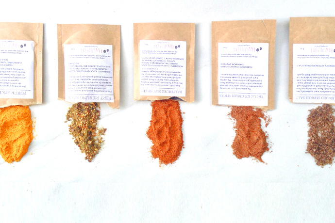 A spice of the month subscription service that sends handpicked blends and recipes to make using them easy.