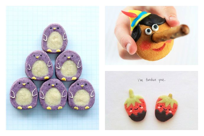 Cute cookie recipes for, well, the cutest cookies ever that are not impossible to make.