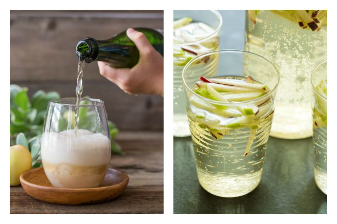 Weekend Toast: Raise a glass to (early) fall with these sparkling apple cider drinks.
