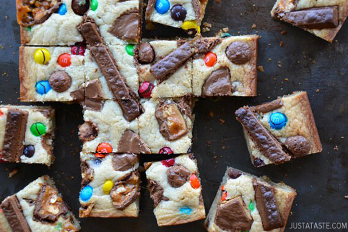 8 deliciously decadent ways to use leftover Halloween candy or, really, any candy.