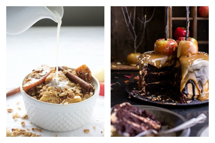 7 delicious caramel apple flavored recipes for fall, from healthy to over-the-top decadent