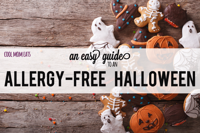 An easy guide to an allergy free Halloween: Tips, treats, recipes, and more.