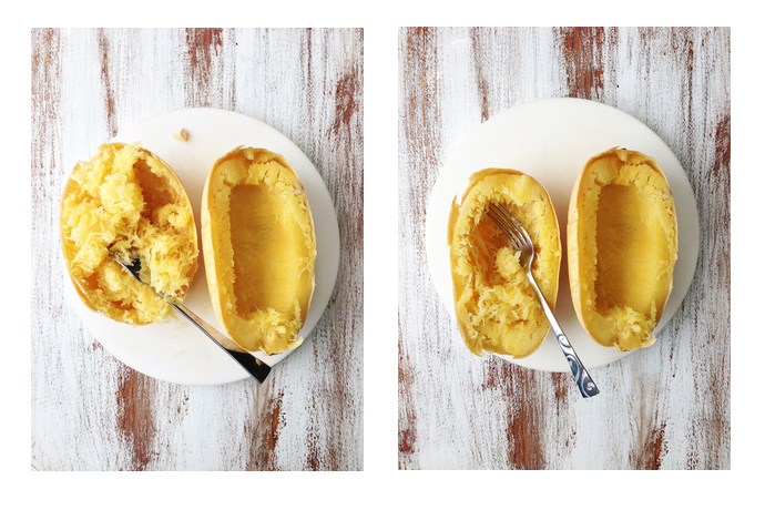 How to cook spaghetti squash in the slow cooker!