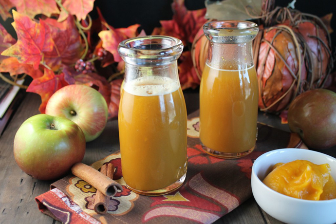 A tipsy (or not) farewell to our pumpkins, aka tasty pumpkin drink recipes.