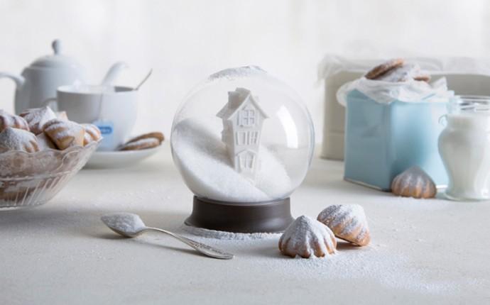 The snow globe sugar bowl. Sweet!