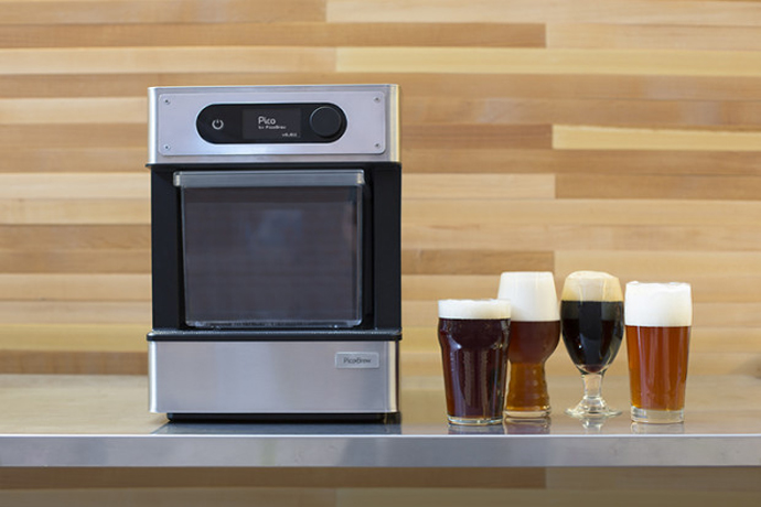 A new home brewing machine that makes DIY craft beer as easy as making a cup of coffee.