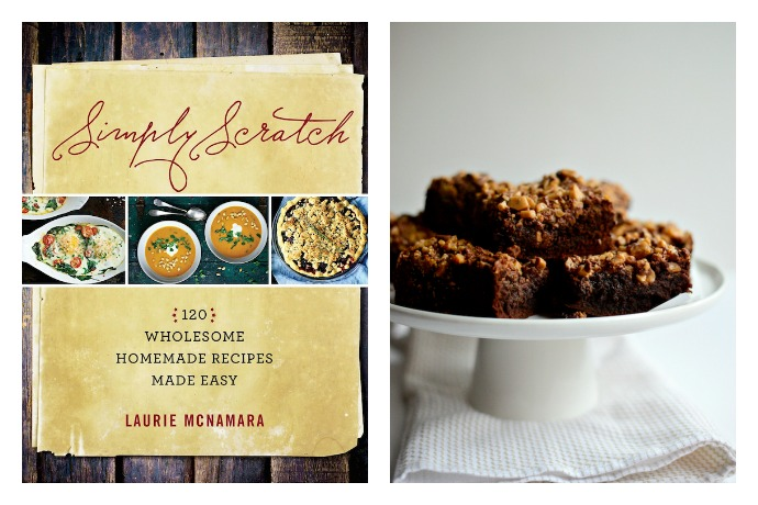 Simply Scratch: A cookbook of scratch recipes so easy you'll actually want to make them. Plus, toffee-topped brownies.