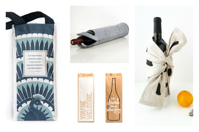 7 easy creative ways to wrap wine bottles as gifts on Cool Mom Eats