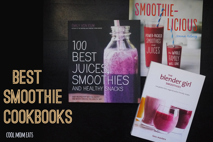 Up your smoothie game with these 3 smoothie cookbooks that give healthy a tasty twist.