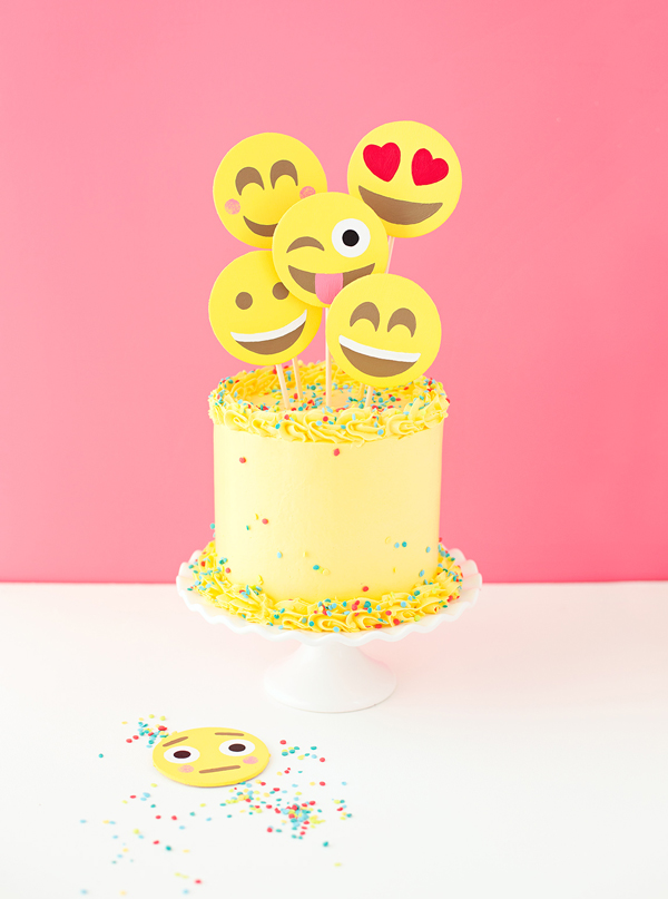 This Emoji Cake Is A Cool Birthday Cake Idea For Tweens And Teens