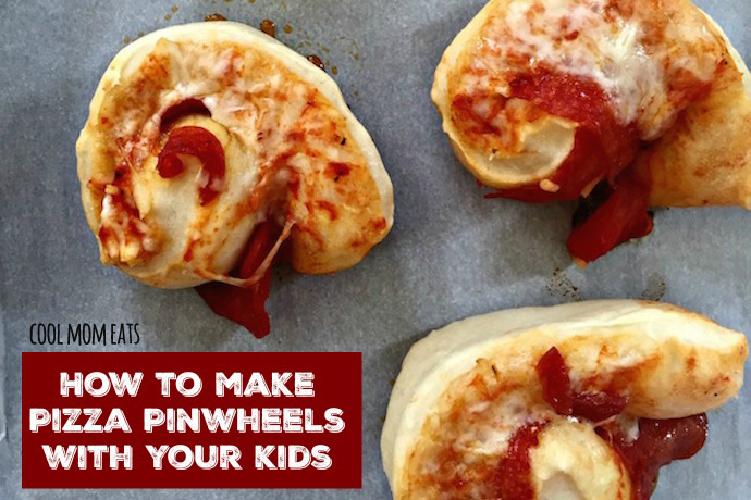 How to make pizza pinwheels with kids, plus the best no-cook pizza sauce recipe.