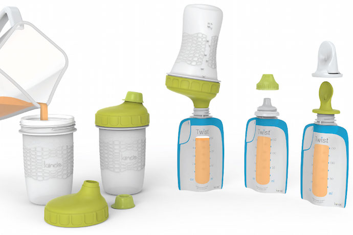 Storing baby food just got a little easier, thanks to the Foodii baby food storage system.