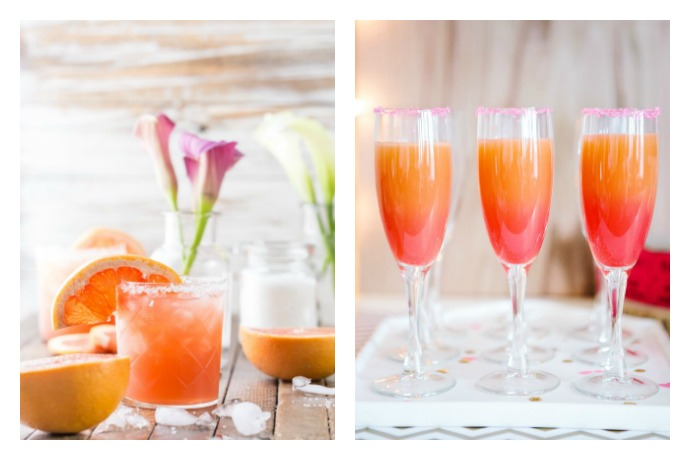 Weekend Toast: A grapefruit cocktail and mocktail to brighten up your winter weekend.