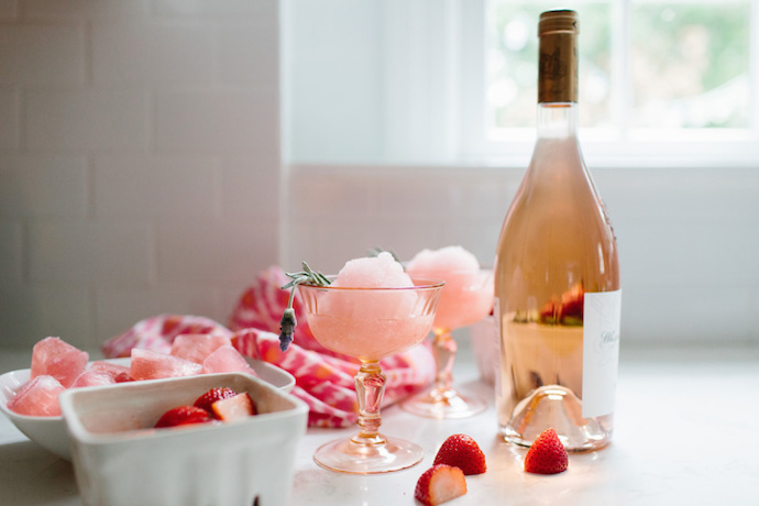 6 festive pink cocktails and mocktails to serve on Valentine's Day.