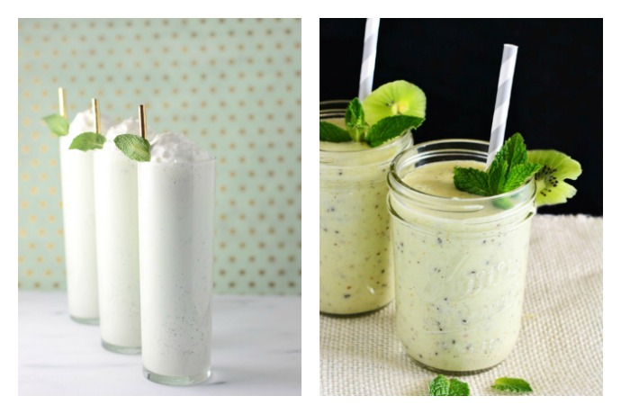 Weekend Toast: All natural, dye free Shamrock Shake recipes. Because today is your lucky day.