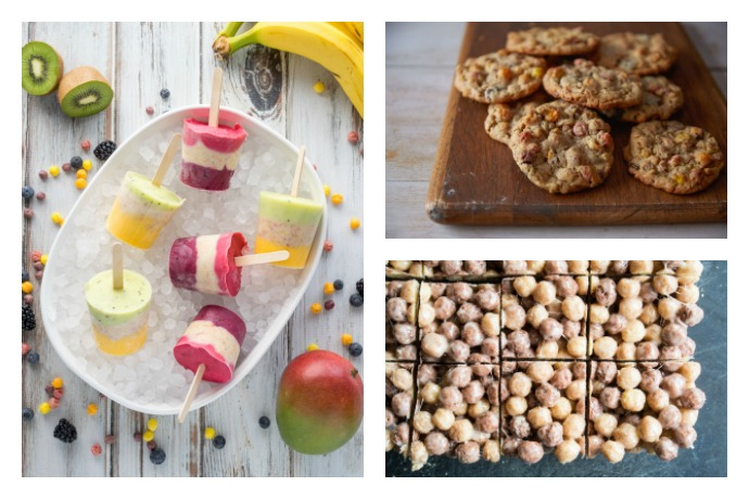 8 awesome snack recipes using cereal that the kids will freak out over!