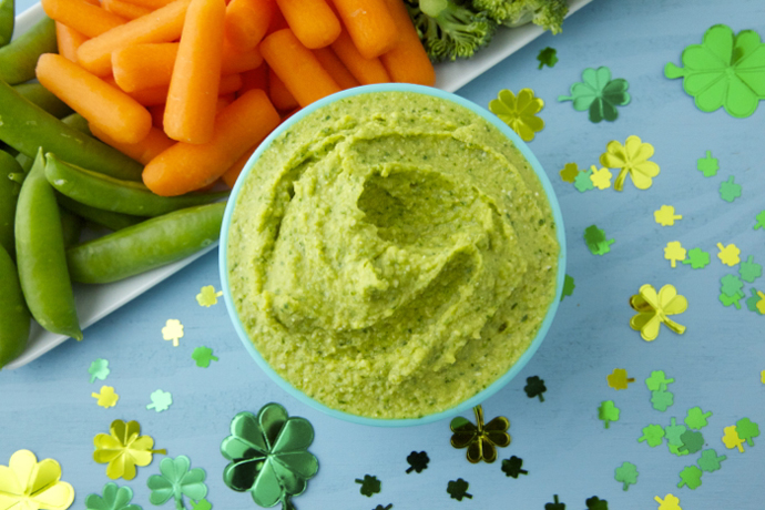 Go green with these dye free recipes for St. Patrick's Day.