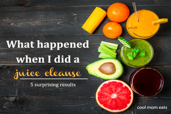 What happened when I did a 3-day juice cleanse.