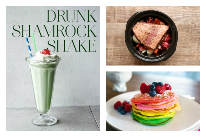 The ultimate last minute St. Patrick's Day recipe guide: 50 meals, snacks, drinks & desserts that are magically delicious.