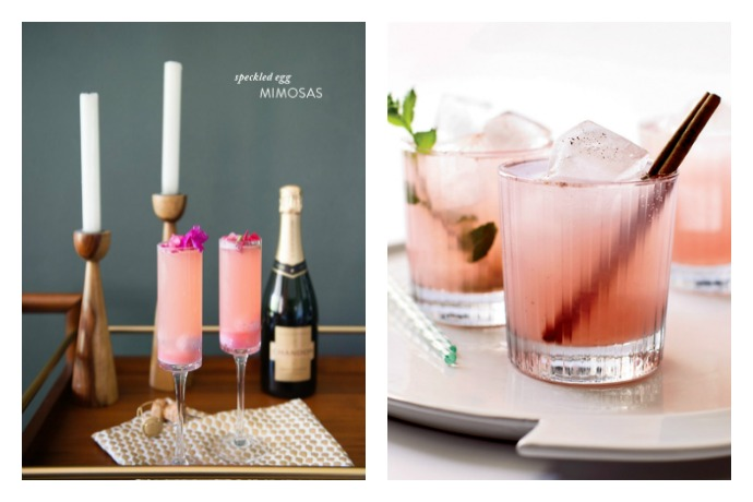 Weekend Toast: Easter cocktail recipes. Because the kids get candy and we get booze (and candy, too).