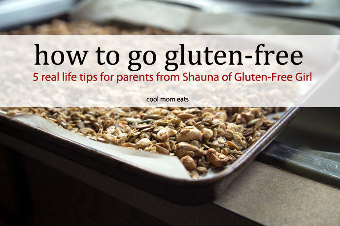 How to go gluten-free: Comprehensive, real life tips and recipes from Shauna Ahern of Gluten-Free Girl.