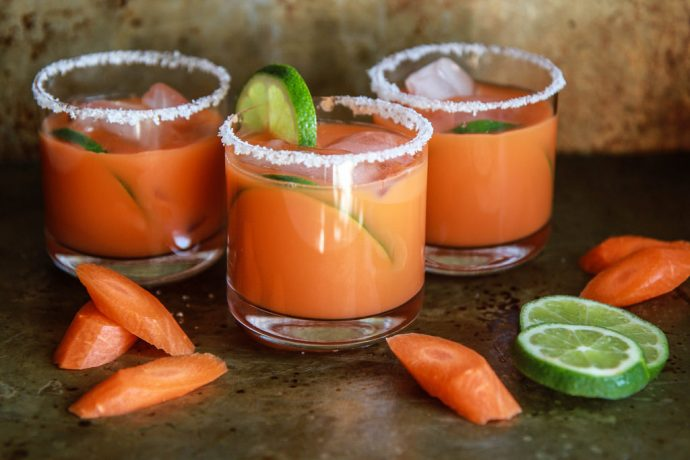 Weekend Toast: Surprisingly delicious cocktails made with vegetable juice to toast Earth Day, of course.