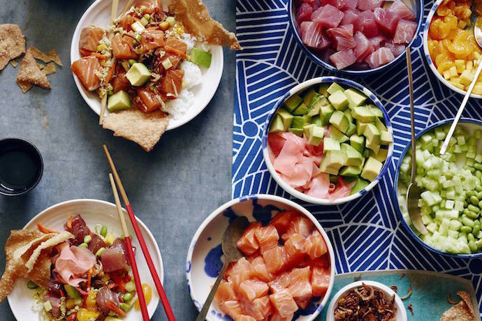 Get adventurous with these Poke Bowl recipes: Making the latest food trend family-friendly.