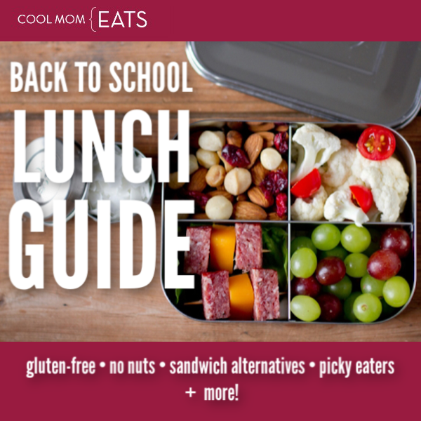 Cool Mom Eats | back to school lunch guide