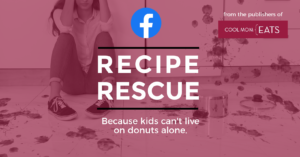 Join the helpful Recipe Rescue FB group from the publishers of Cool Mom Eats