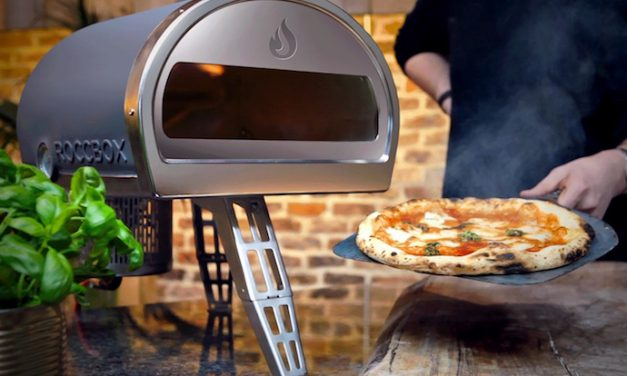 Roccbox lets you make delicious brick-oven pizzas (and so much more) without the brick oven.