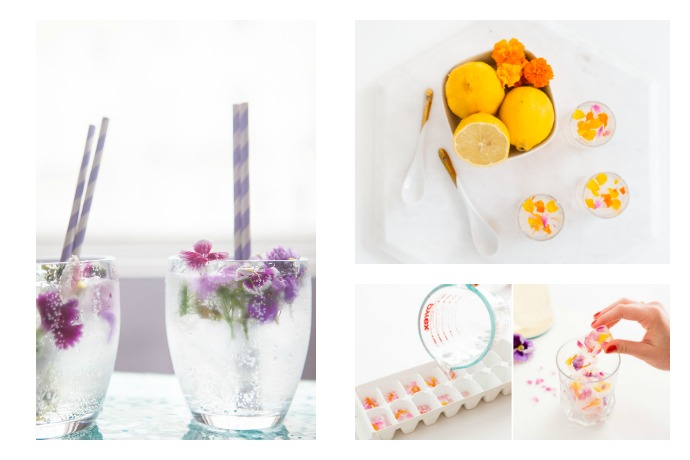 Spring cocktails and mocktails with flower power.