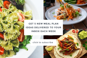 Subscribe for 5 new meal plan ideas each week | Cool Mom Eats
