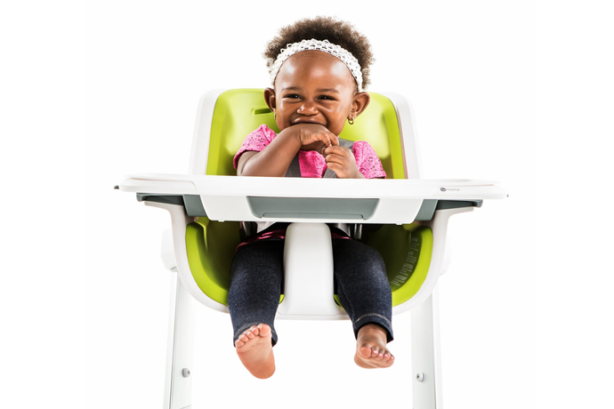 A brand new magnetic high chair from 4moms: The newest addition to the registry covet list.
