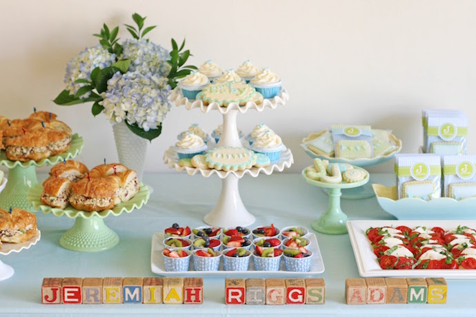 Quick and easy baby shower food ideas, from realistic moms who've thrown a few.