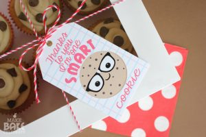photo about One Smart Cookie Printable titled The no cost Just one Sensible Cookie tag at Create Bake Rejoice is just one