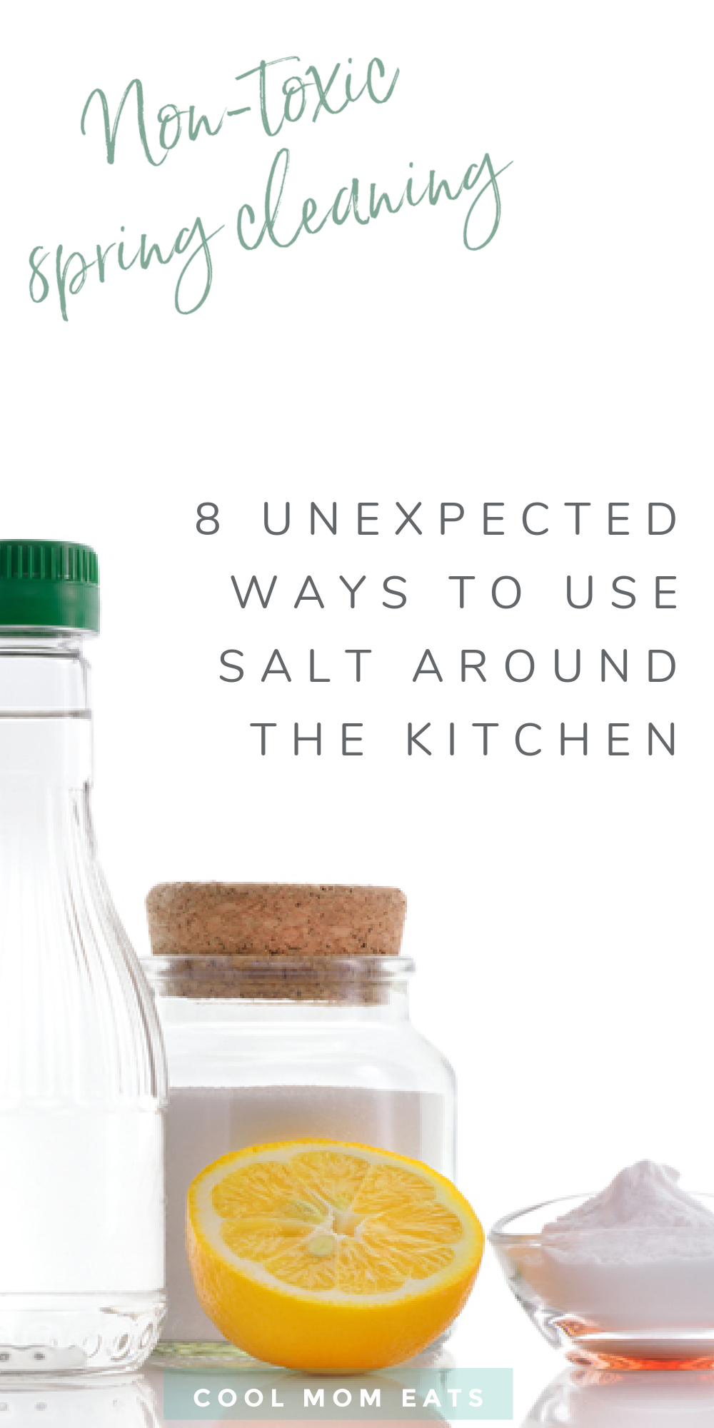 non-toxic cleaning tips: 8 unexpected ways to clean with salt around the kitchen